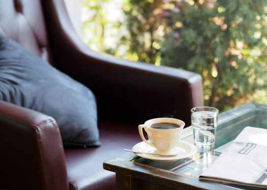 Time for Morning Coffee Waking Up Early To Make Time